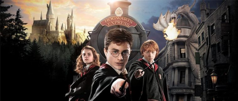 Who's Your Hogwarts Boyfriend? - image wizarding-world-harry-potter-orlando-hermoine-ron-art-a-00-758x324 on https://potterhood.com