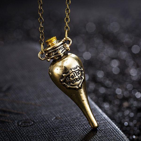 Felix Felicis Potion Pendant Necklace 1