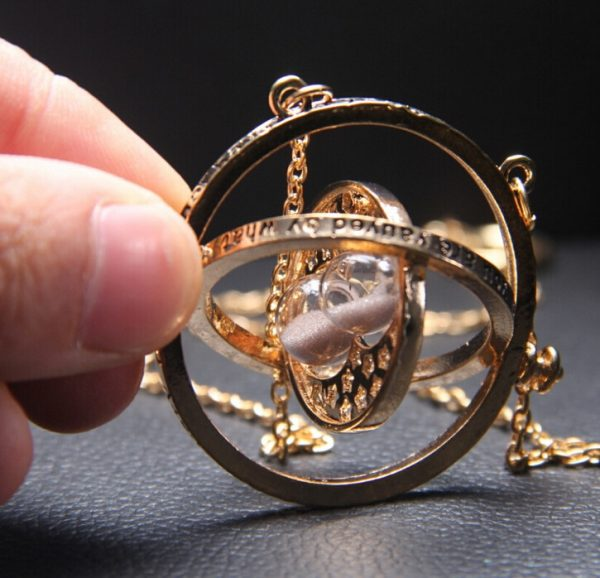 Time-Turner Pendant Necklace