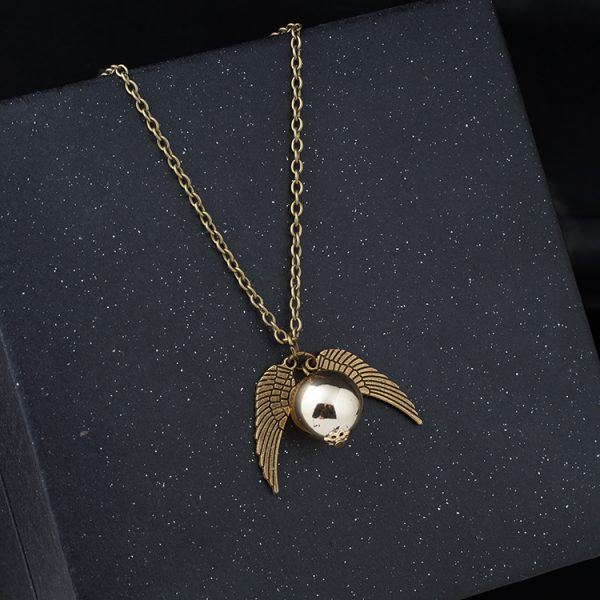 Golden Snitch Necklace 2