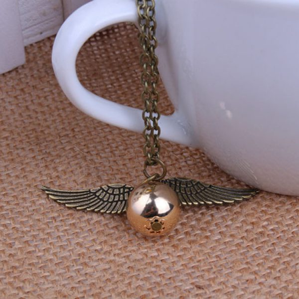 Golden Snitch Necklace 1