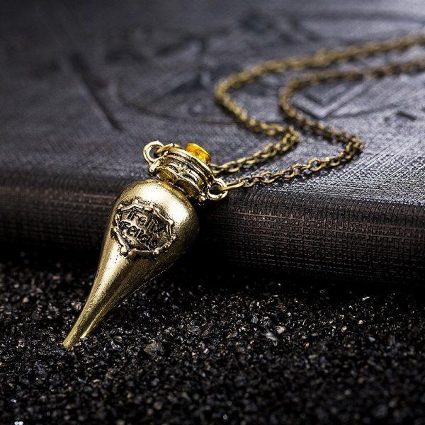 Felix Felicis Potion Pendant Necklace 2