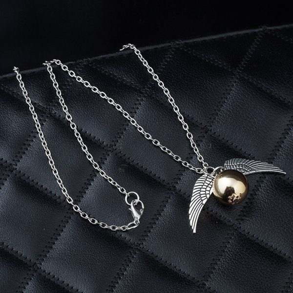 Golden Snitch Necklace 3