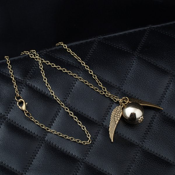 Golden Snitch Necklace 4