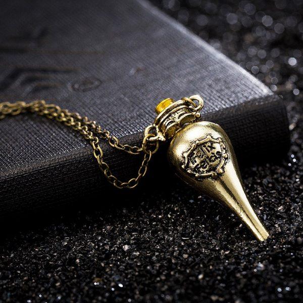 Felix Felicis Potion Pendant Necklace 3