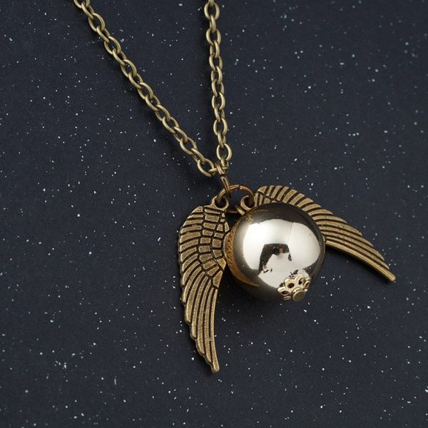 Golden Snitch Necklace 5