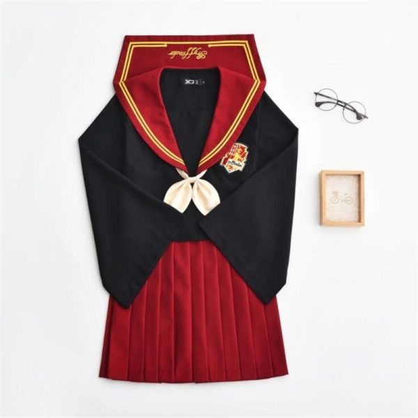 Female Student Uniform Skirt Sailor Suit 5