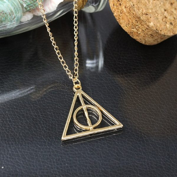 Deathly Hallows Pendant Necklace 4