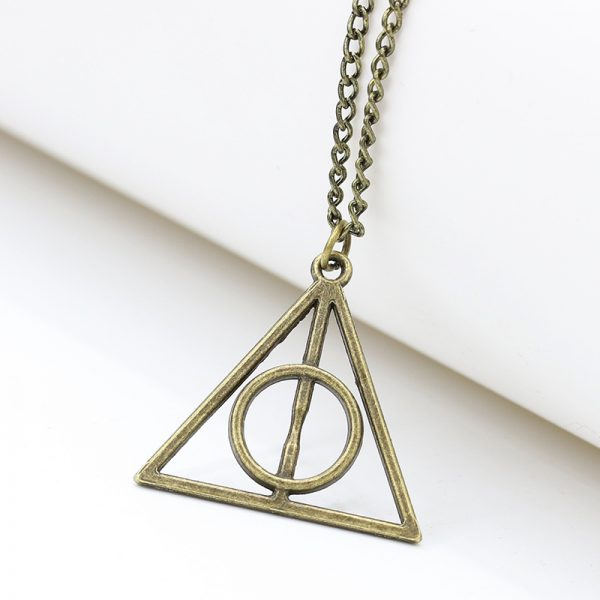 Deathly Hallows Pendant Necklace 3