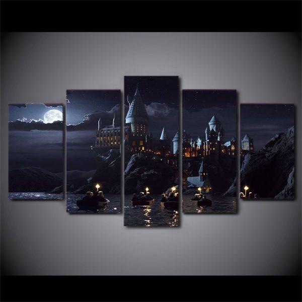 Hogwarts Castle Five Modular Posters 3