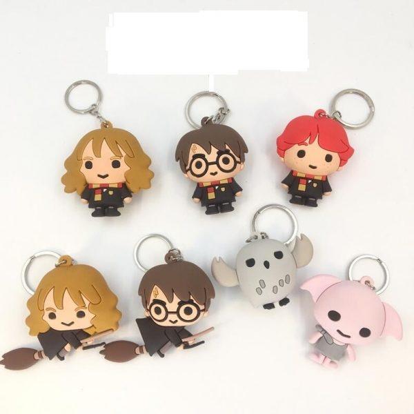 Potterhood Mini-toys for Keys