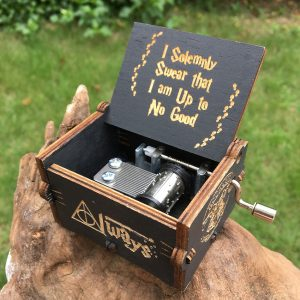 Potterhood's Wooden Music Box