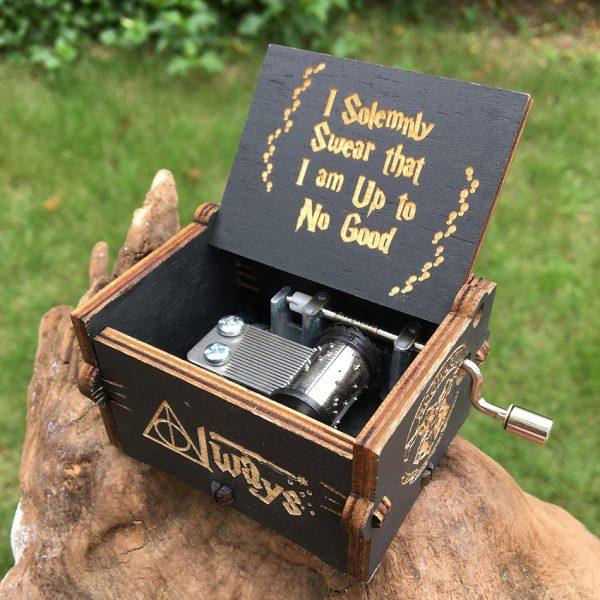 Potterhood's Wooden Music Box