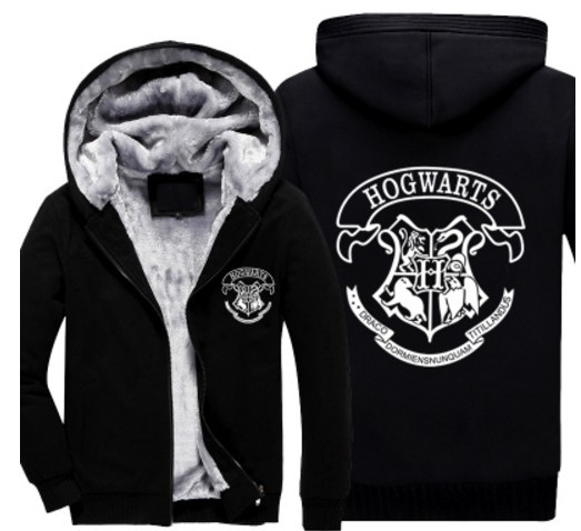 Hogwarts School Unisex Hooded Sweatshirt