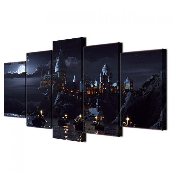 Hogwarts Castle Five Modular Posters 2