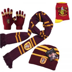House Winter Combo Scarf+Beanie+Gloves+Socks