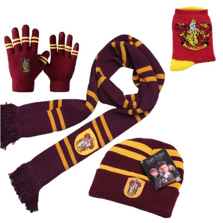 House Winter Combo Scarf+Beanie+Gloves+Socks