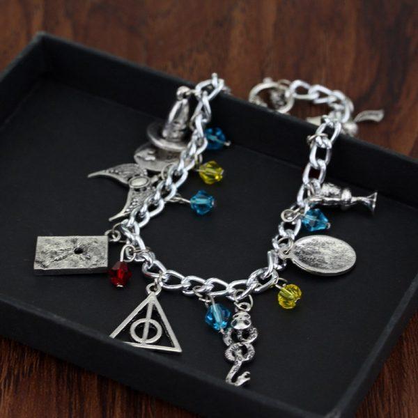 Infinity Silver Plated Charm Bracelet 1