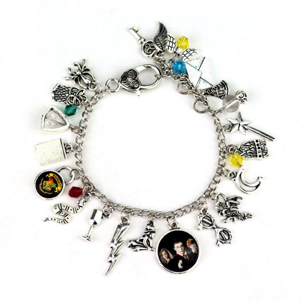 Infinity Silver Plated Charm Bracelet 3