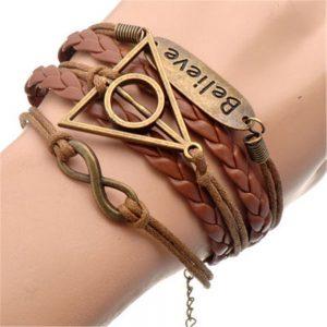 Believe Charm Bracelet