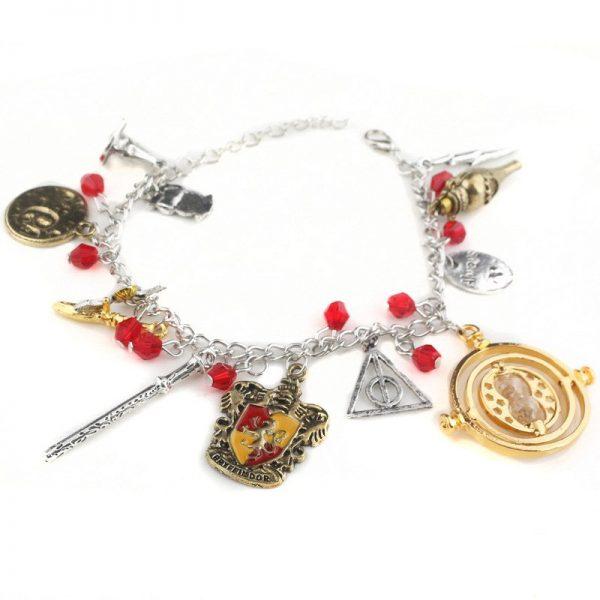 Infinity Silver Plated Charm Bracelet 4