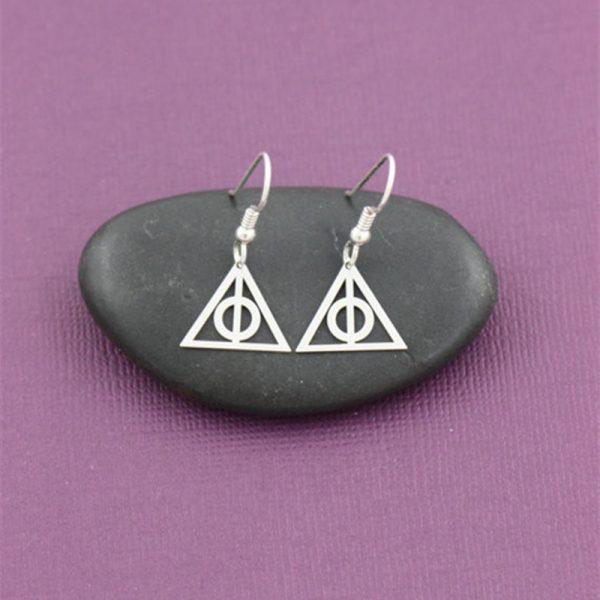 Deathly Hallows Earrings 1