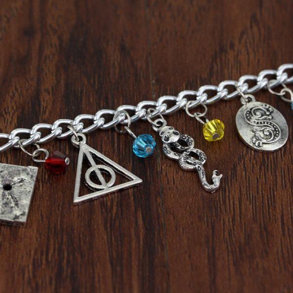 Infinity Silver Plated Charm Bracelet 2