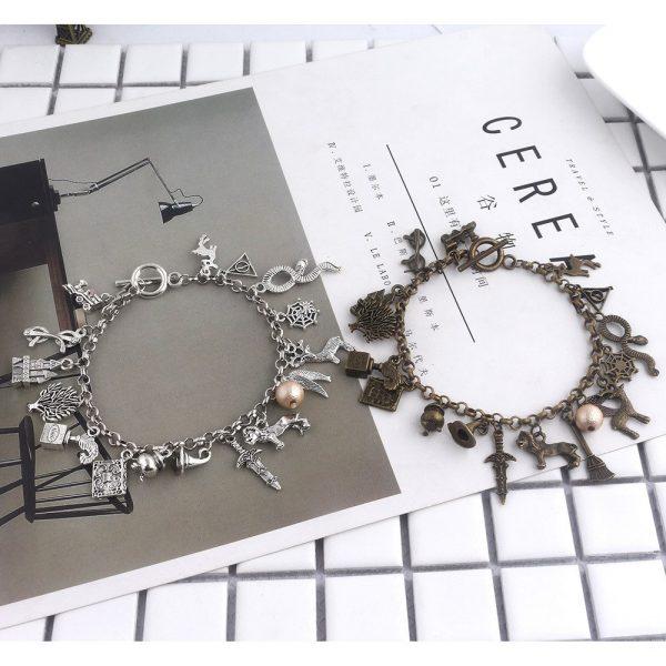 Infinity Silver Plated Charm Bracelet 5