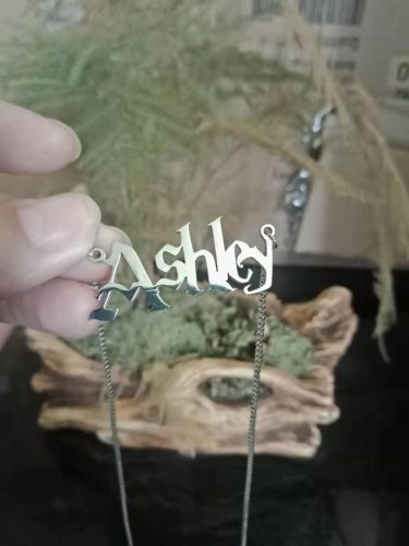 Potterhood Custom Name Pendant Necklace photo review