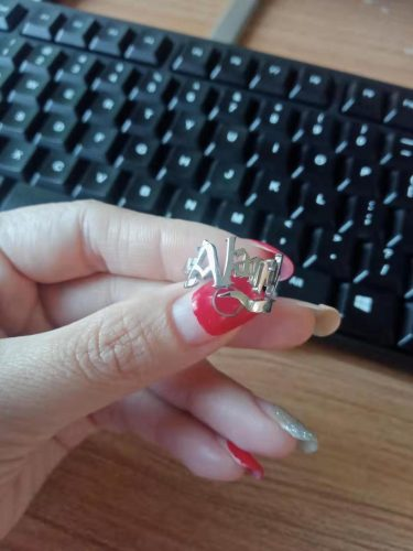 Potterhood Custom Name Ring photo review